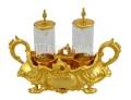 Ampolla per messa stile barocco con manici