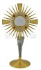 Monstrance with Ear and Lilies